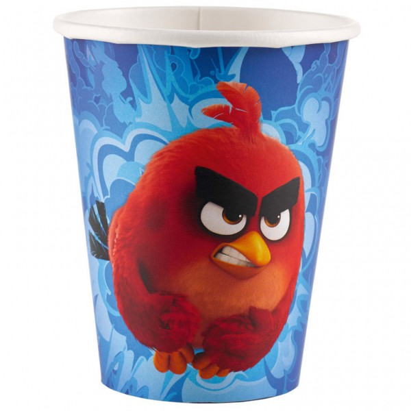 Image of   8 Stk. Angry birds krus