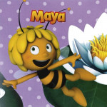 Maya the bee servietter