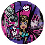 8 Stk. Monster High tallerkner