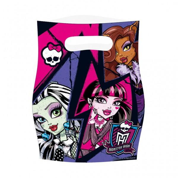 Billede af 6 stk. Monster High slikposer