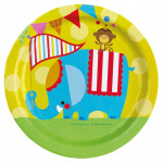 8 stk. Fisher-Price Circus tallerkner