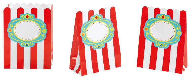 Billede af 8 stk. Fisher-Price Circus slikposer