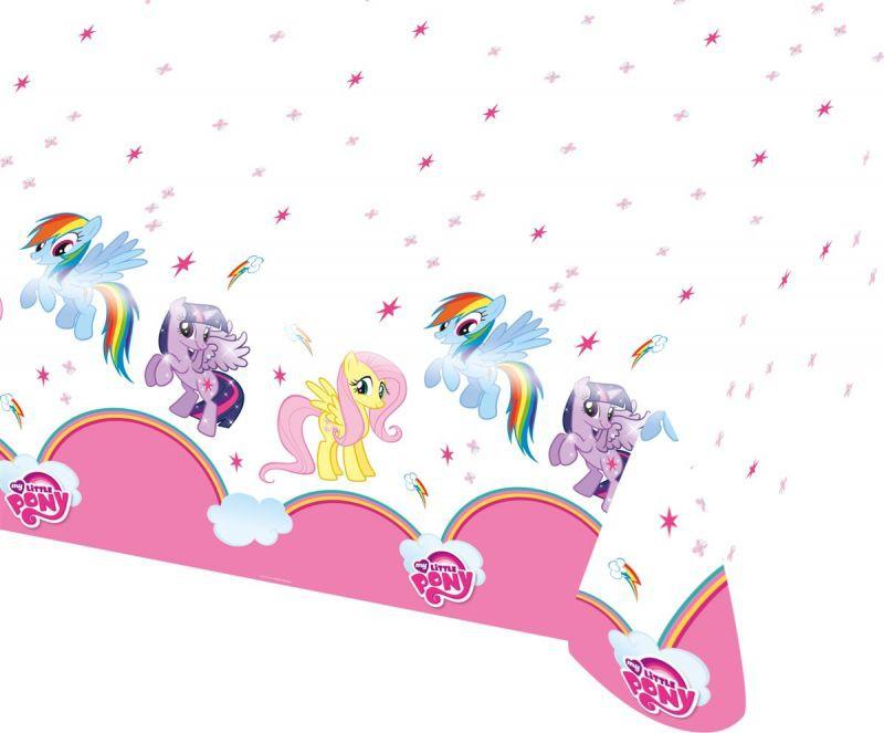 Billede af My Little Pony plastik dug