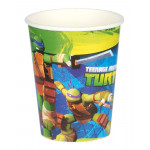 8 stk. Teenage Mutant Ninja Turtles krus