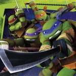 Teenage Mutant Ninja Turtles servietter
