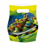 6 stk. Teenage Mutant Ninja Turtles slikposer