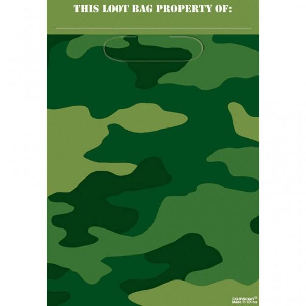 Billede af 8 stk. Camouflage slikposer