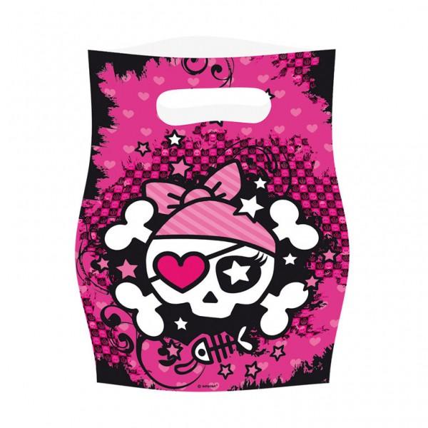 Billede af 6 stk. Pink Pirate slikposer