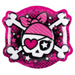 Pink Pirate tallerkner