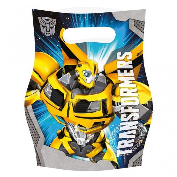 Billede af 6 stk. Transformers slikposer