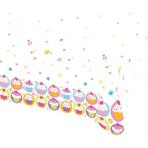 Billede af Cupcake plastik dug