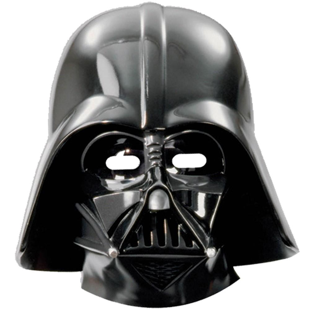 Billede af 6 Stk. Star Wars Darth Vader maske