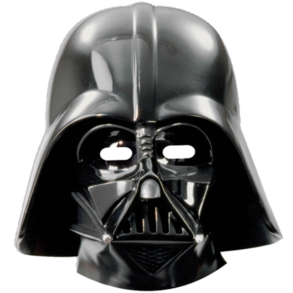 Image of   6 Stk. Star Wars Darth Vader masker