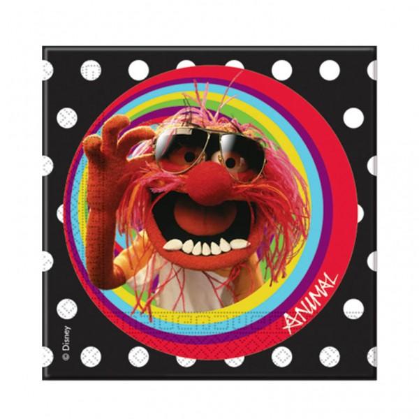 Billede af Muppet Show servietter