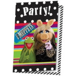 Muppets Show invitationer