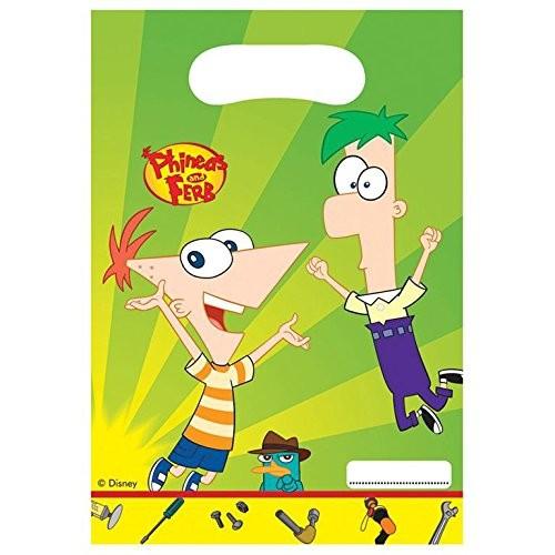 Billede af Phineas And Ferb slikposer