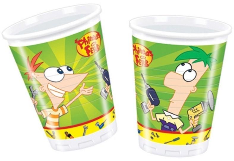 Billede af Phineas And Ferb engangskrus