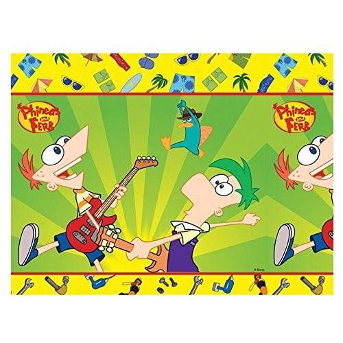 Billede af Phineas And Ferb plastik dug