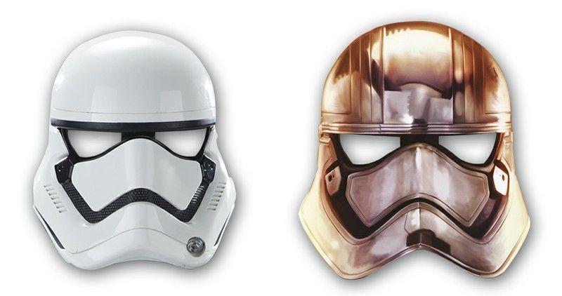 Billede af Star Wars Storm Trooper masker