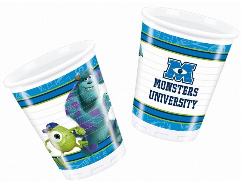 Billede af Monsters University engangskrus