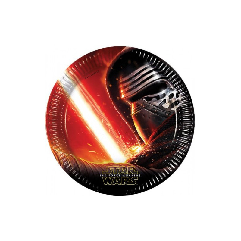 Star Wars the force awakens pap tallerkner