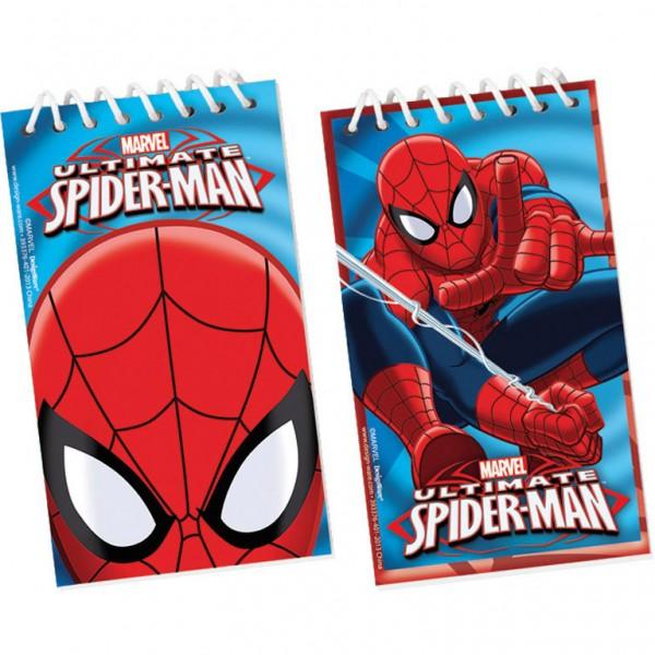 Billede af Spider-man spiral blok
