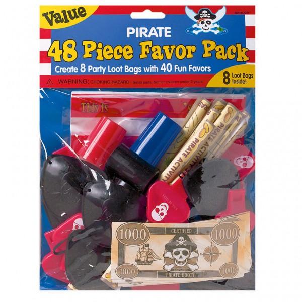 Billede af Pirat favorit pakke til slikposen