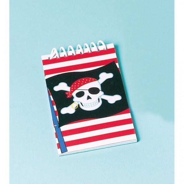 Billede af Pirat notesblok