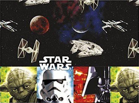 Billede af Star wars retro plastik dug