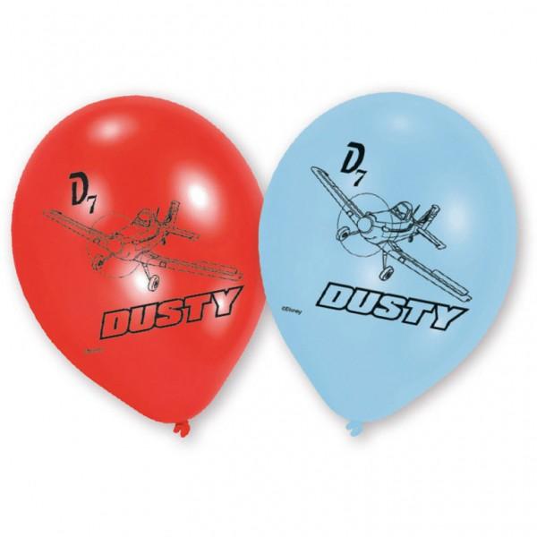 Billede af Flyvemaskiner balloner 6 Stk.