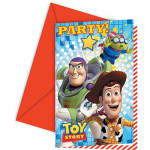 Toy Story invitationer