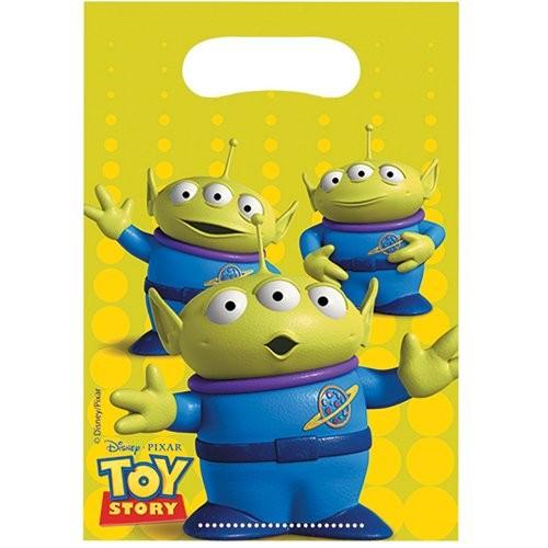 Billede af 6 Stk. Toy Story slikposer
