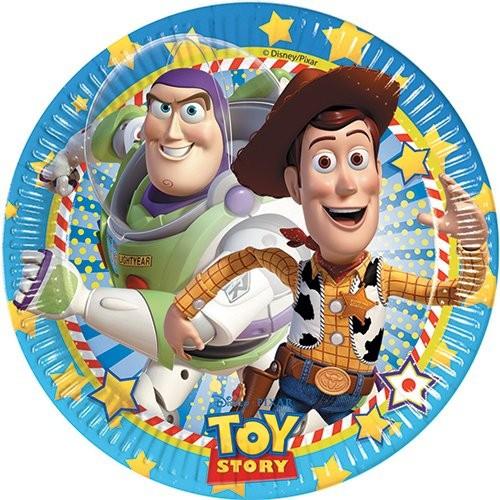 Billede af 8 Stk. Toy Story pap tallerkner