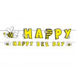 Happy be day - gul - sort