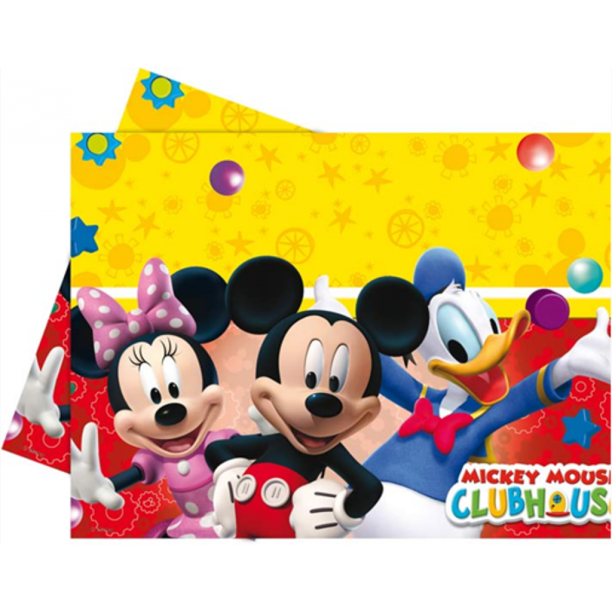 Image of   Mickey Mouse plastik dug, Party