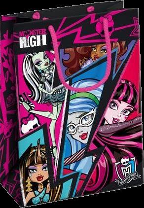 Billede af Monster High gavepose