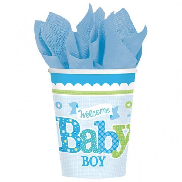 Billede af Baby Shower Engangskrus - Dreng