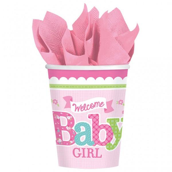Billede af Baby Shower Engangskrus - Pige