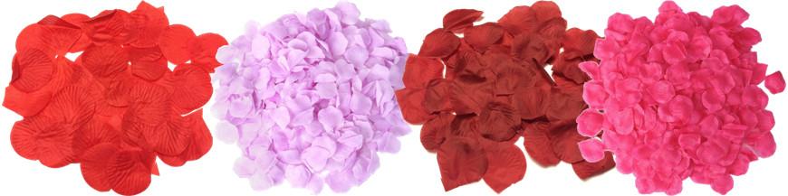 Rosenblade og fjer