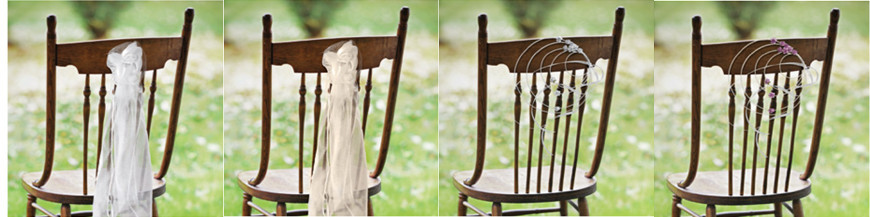 Buketter og kranse til stole