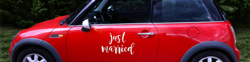 Bryllups klistermærker